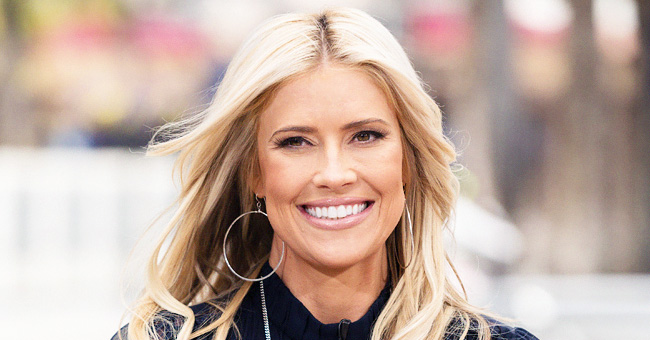 'Flip or Flop' Star Christina Anstead Shows off Her Family Relaxing in a Pool before Her C-Section