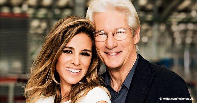 Richard Gere recibe a los 69 años a su primer hijo con su esposa Alejandra Silva, de 35