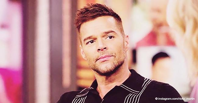 Ricky Martin compartió en un video que no puede salir de cama porque está enfermo