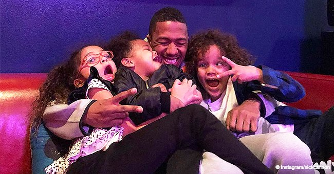 Nick Cannon proves he is the best dad, hugging all of his 3 kids in precious photo