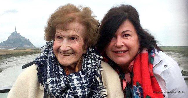 L'une des plus vieilles femmes de France a réalisé son rêve : elle a vu le Mont Saint-Michel