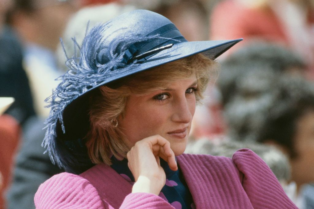 Diana, Princess of Wales (1961 - 1997) attends the University games on her birthday in Canada, 1st July 1983.   Getty Images