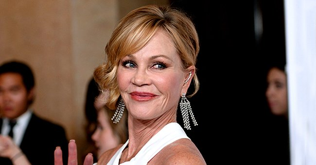 Melanie Griffith Shows off Stunning Figure Alongside Her Handsome Pal — Here's the Snap