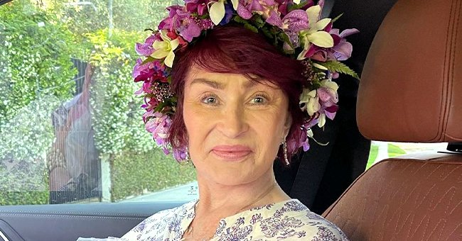 Sharon Osbourne Recalls Her Hawaii Wedding with Ozzy as She Poses in a Gorgeous Flower Crown