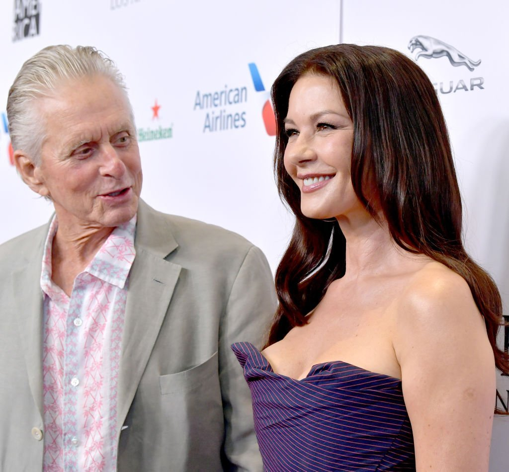 Michael Douglas and Catherine Zeta-Jones attend the BAFTA Los Angeles + BBC America TV Tea Party 2019 at The Beverly Hilton Hotel in Beverly Hills, California | Photo: Getty Images