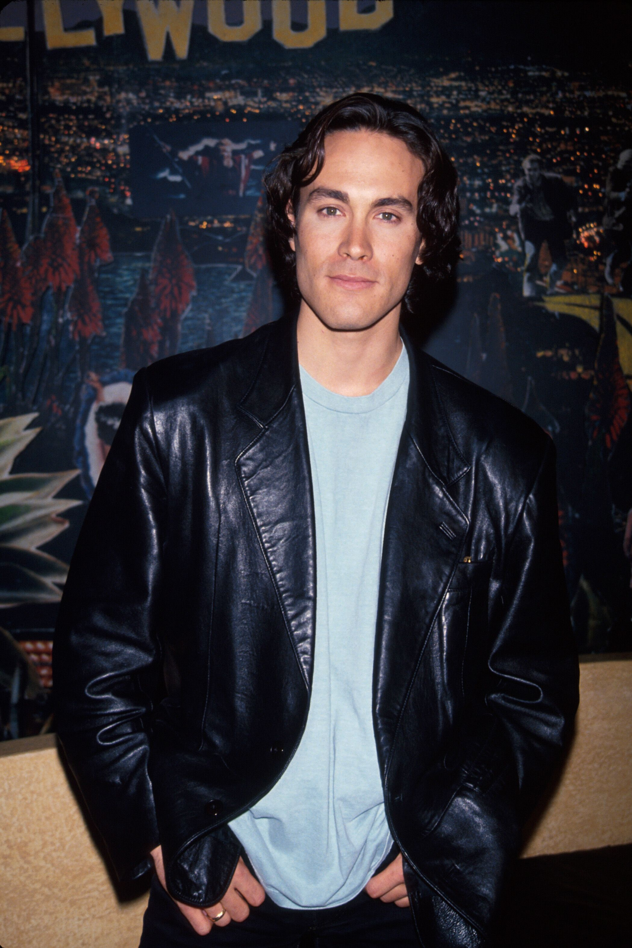 Brandon Lee in Century City Premiere in 1992 | Source: Getty Images