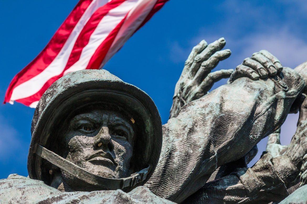 Donny's father was a marine and he passed away | Source: Unsplash