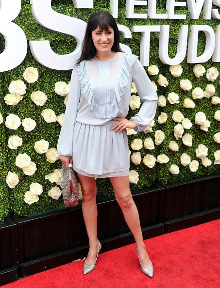 Paget Brewster at CBS Studios - Radford on August 1, 2017 in Studio City, California | Photo: Getty Images