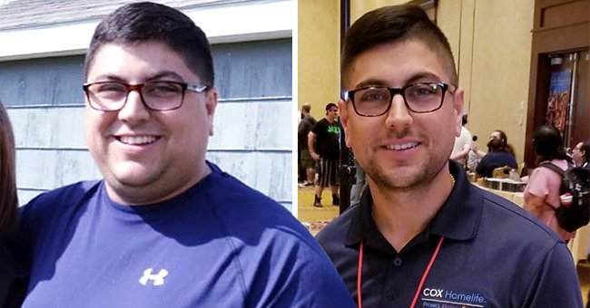 Man Finds Motivation to Change His Lifestyle & Lose 115 Lbs after His Wife Dies of Cancer
