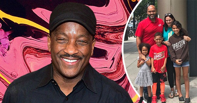 Radio Legend Donnie Simpson Sr's Son and his family. | Photo: Getty Images