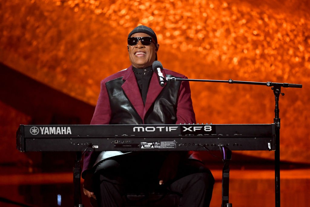 Stevie Wonder, Q85: A Musical Celebration for Quincy Jones im Microsoft Theatre, 25. September 2018, Los Angeles | Quelle: Getty Images