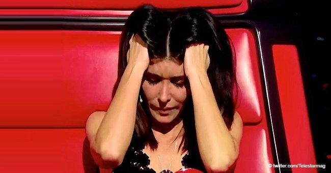 """""""Vous m'avez fait penser à ma grand-mère"""" : Jenifer a fondu en larmes en entendant la chanson triste du candidat"""