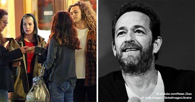 Le fils de Luke Perry, son ex-épouse et sa fiancée ont dîné ensemble avant les funérailles de l'acteur