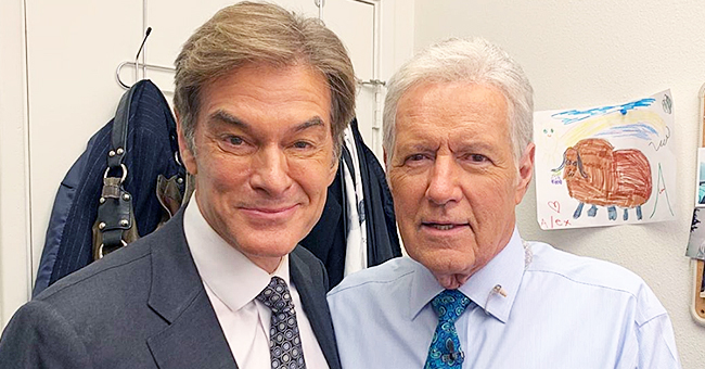 Dr Oz Sends Message of Support to 'Jeopardy!' Host Alex Trebek Amid His Pancreatic Cancer Battle