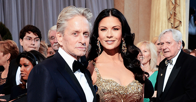 Catherine Zeta-Jones Posts Interview of Husband Michael Douglas Revealing How He Got Her