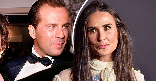 Actress Demi Moore Claims She Is 'Very Proud' of Her Divorce from 'Die Hard' Star Bruce Willis