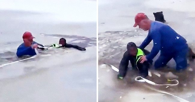 Teenage Girl and Grandfather Save 11-Year-Old Boy Trapped in Frozen East Texas Pond