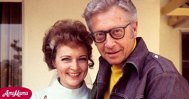 Picture of Betty White and her third husband Allen Ludden | Photo: Getty Images