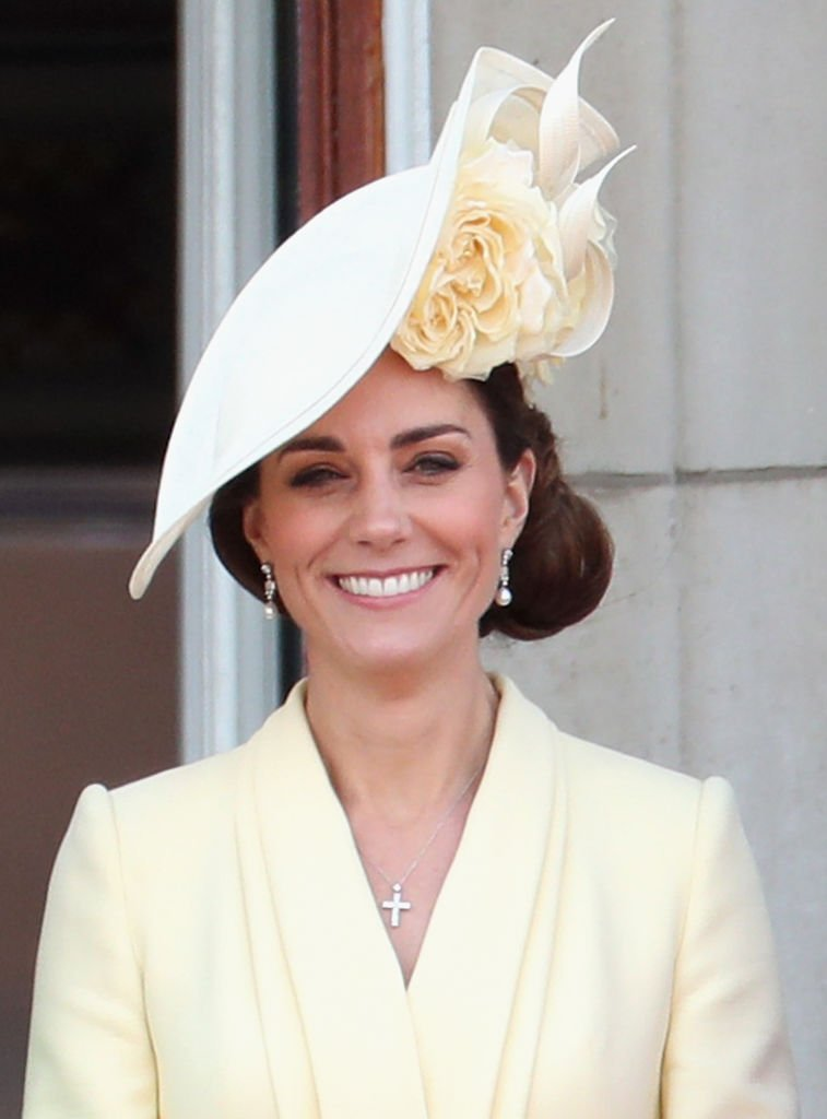 The Duchess of Cambridge Kate Middleton at Trooping the Color in June 2019 | Photo: Getty Images