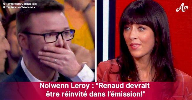 """Renaud éliminé de """"N'oubliez pas les paroles"""" après une erreur: Nolwenn Leroy réagit vivement"""