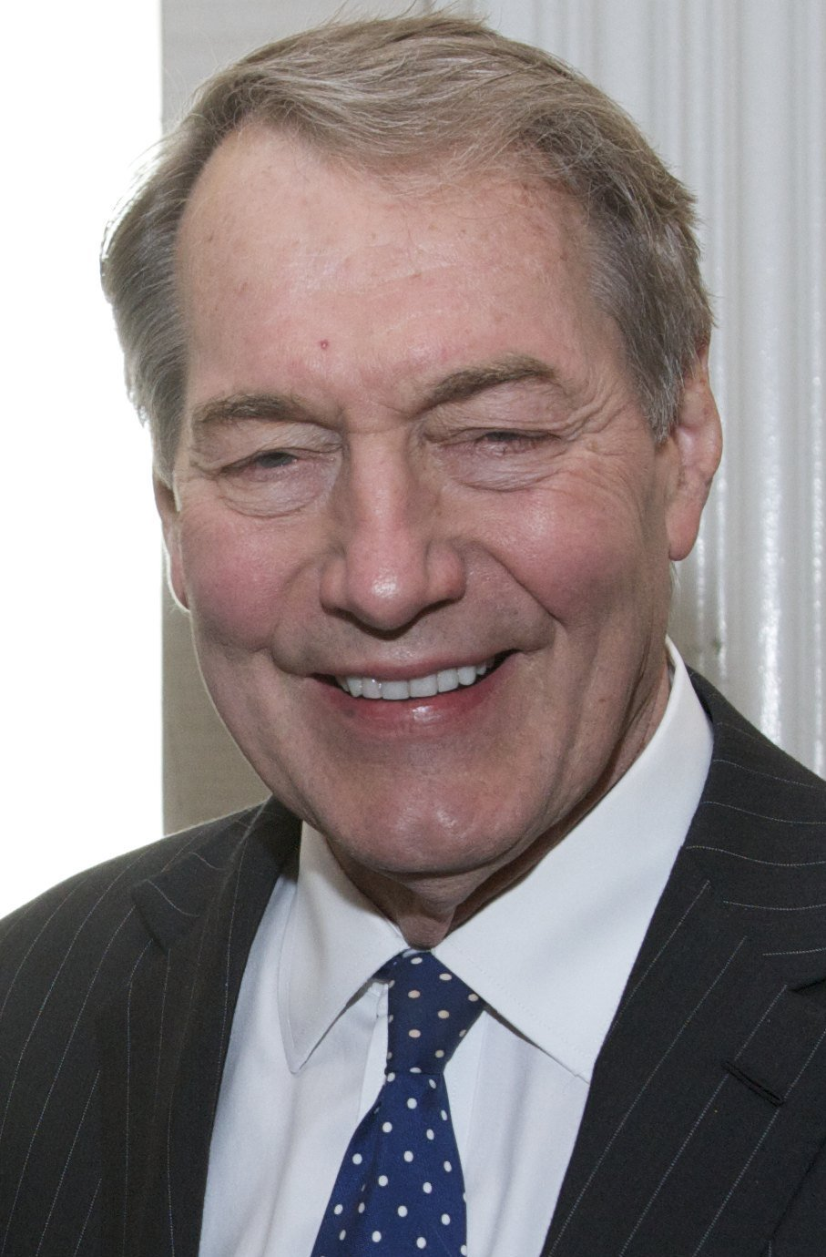 Charlie Rose at the 73rd Annual Peabody Awards. May, 2014. | Photo: Wikimedia Commons Images