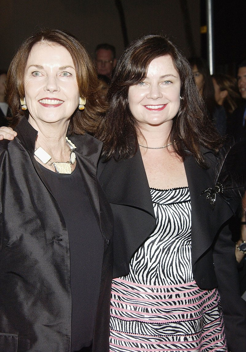 """Sandra Knight and Jennifer Nicholson attending """"Previous Images,"""" a multi-media exhibition of Sandra Knight at the Edgemar Center for the Arts Santa Monica , California, in January 2004. I Image: Getty Images."""