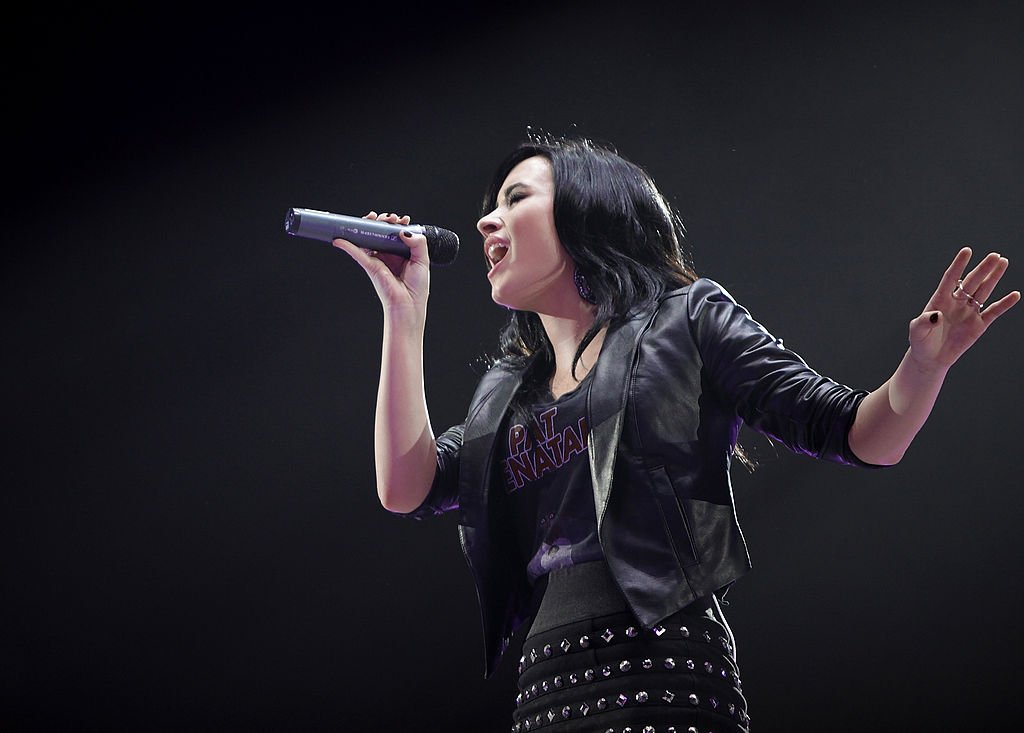 Demi Lovato en concert à Toronto. Photo : Getty Images