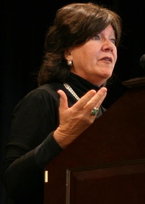 Mary Badham speaks to Birmingham Southern College students in Birmingham, AL on November 8th 2012. | Wikimedia Commons