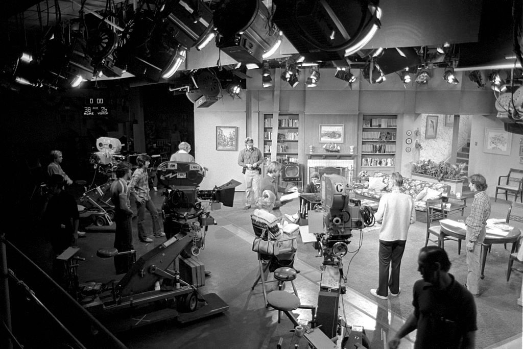 """Happy Days"" set, circa 1976 