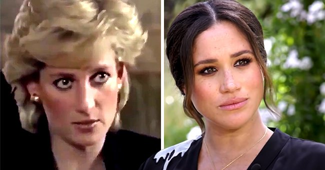 Princess Diana Quote about Being a Threat to Royals Is Compared to Meghan Markle's Controversy