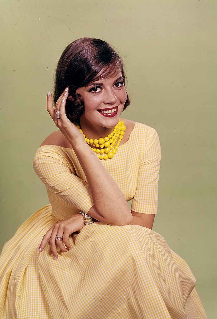 Natalie Wood in the Daily News color studio on August 21, 1956 | Photo: Getty Images