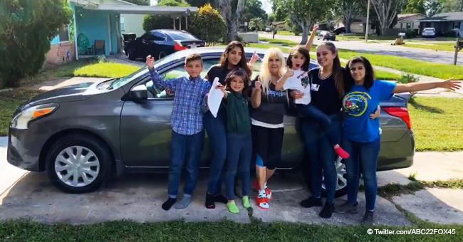 Junges Mädchen zog 5 jüngere Geschwister groß, nachdem Eltern an Krebs starben