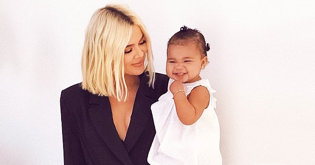 Khloé Kardashian from KUWTK and Daughter True Thompson Try to Do Cartwheels under Niece Penelope's Guidance