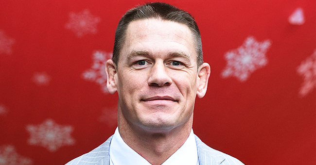 John Cena Talks about Love during Red Carpet Debut with New Girlfriend Shay Shariatzadeh at 'Playing with Fire' Premiere