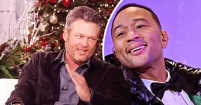 Blake Shelton Talks about John Legend's Sexiest Man Alive Title & Appears to Suggest People Magazine Got It Wrong