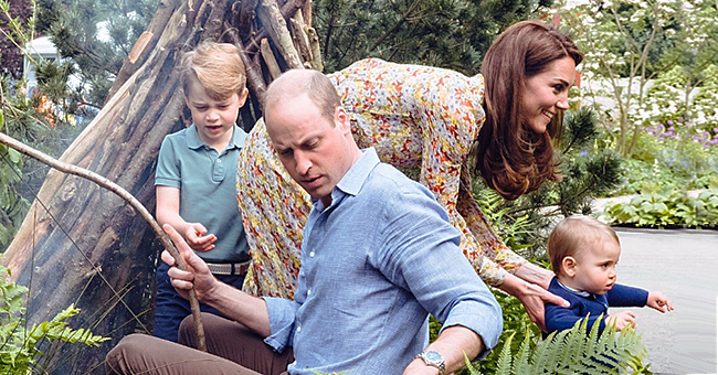 Kate Middleton y el príncipe William comparten nuevas fotos familiares con sus tres hijos