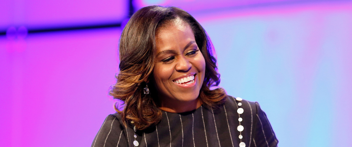 Michelle Obama Shares a Throwback Photo of Barack and Their Daughters for Father's Day