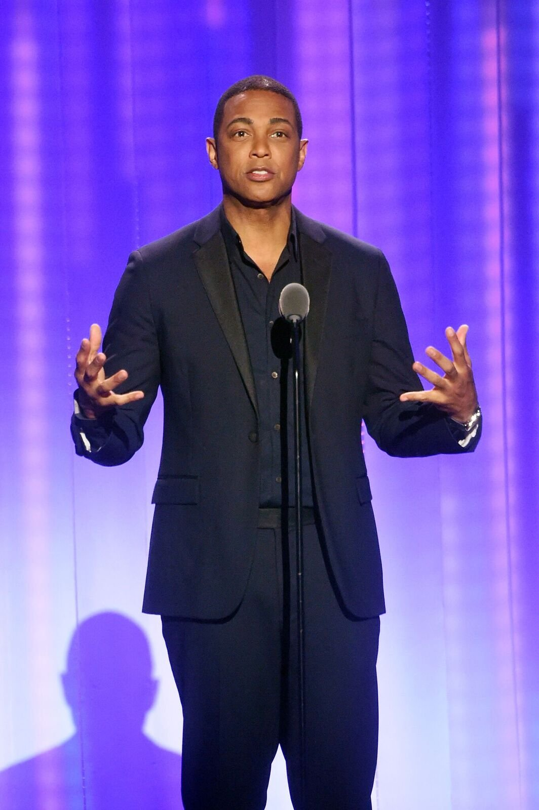 Don Lemon speaks onstage at the Logo's 2017 Trailblazer Honors event at Cathedral of St. John the Divine on June 22, 2017 | Photo: Getty Images