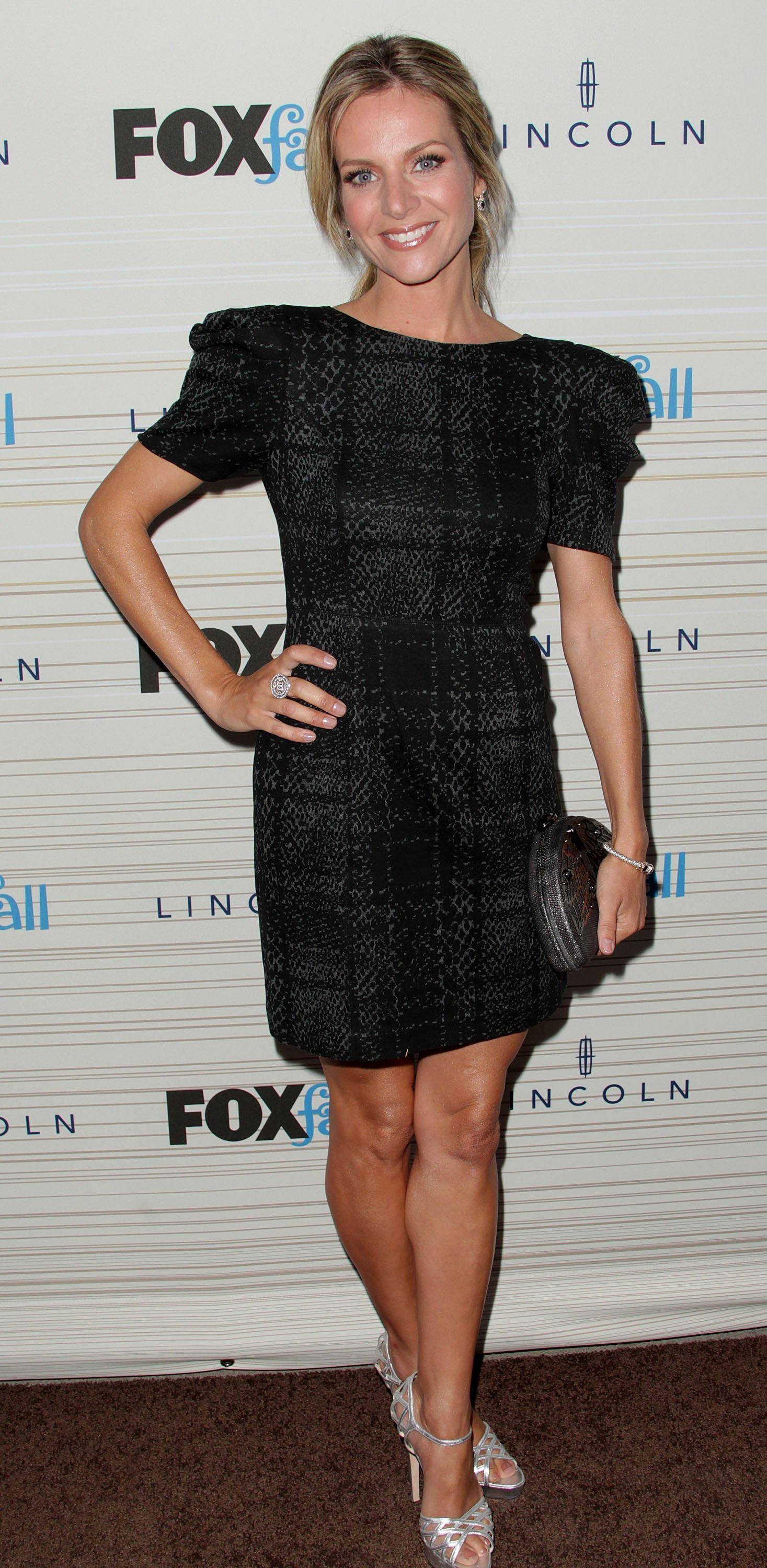 Jessalyn Gilsig attends Fox's Fall Eco-Casino party at Boa on September 13, 2010, in West Hollywood, California. | Source: Getty Images.