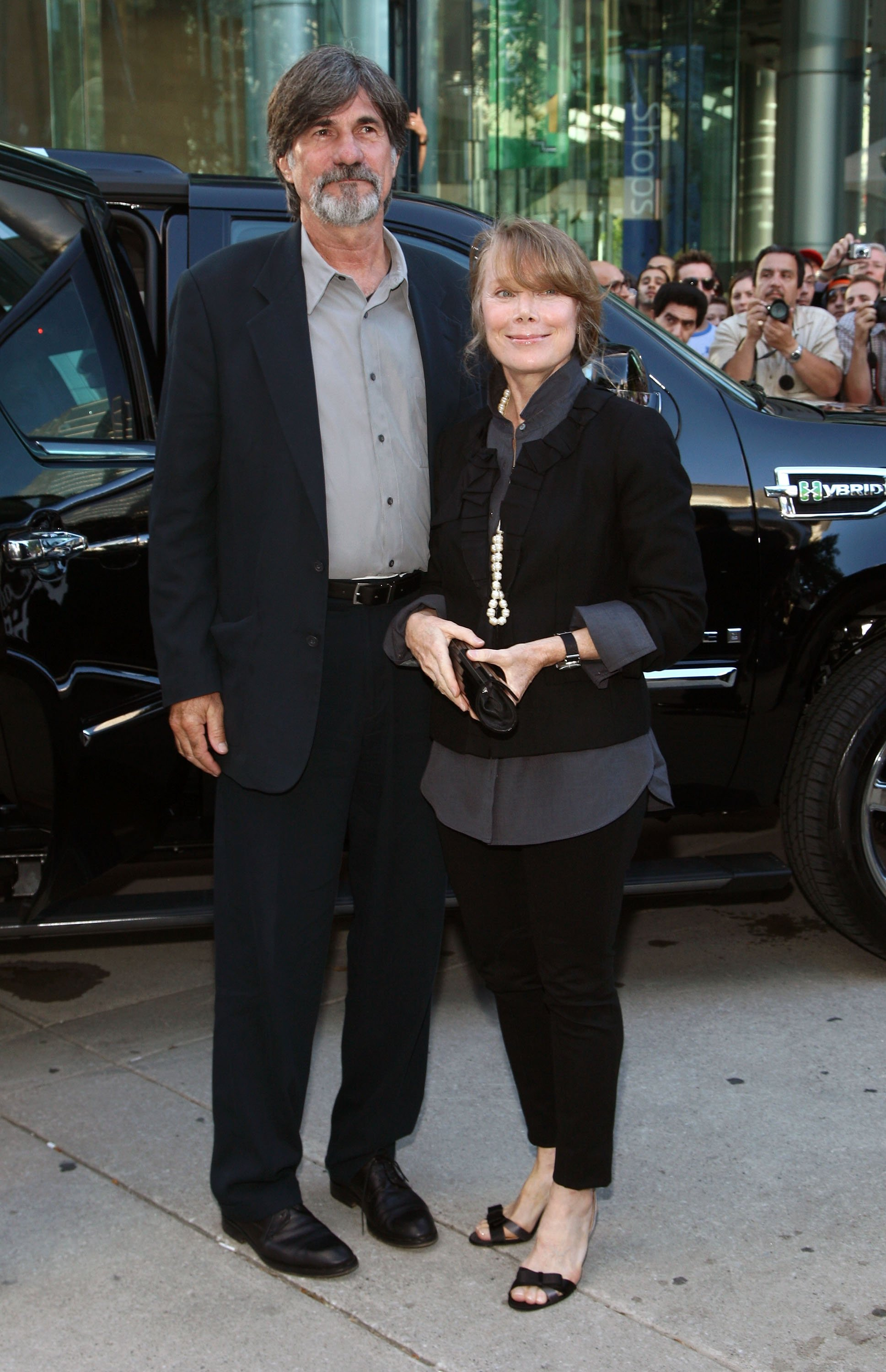 Sissy Spacek and Jack Fisk during the 2009 Toronto International Film Festival. | Photo: Getty Images