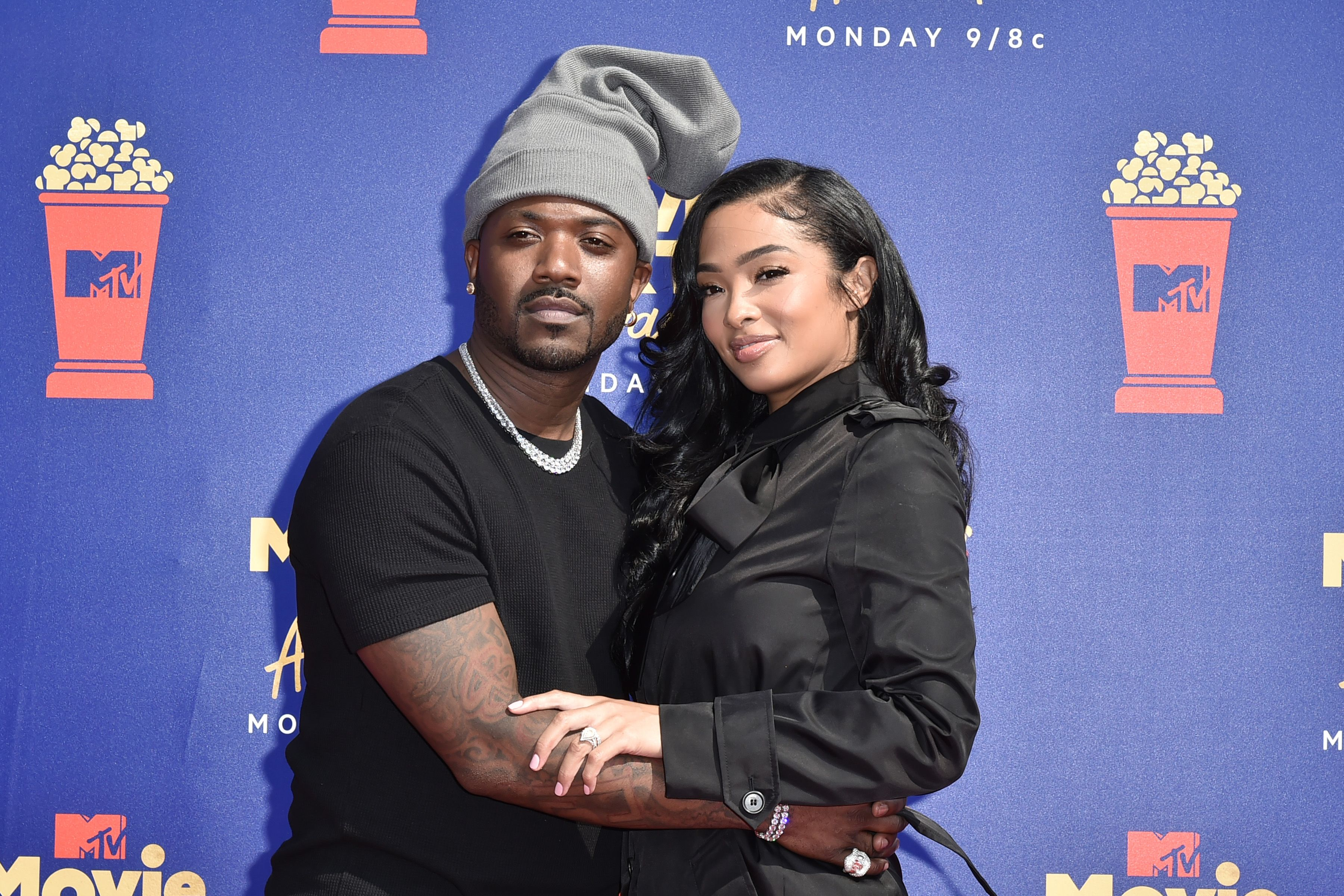 Ray J and Princess Love at the 2019 MTV Movie & TV Awards at Barker Hangar on June 15, 2019 in Santa Monica, California. | Source: Getty Images