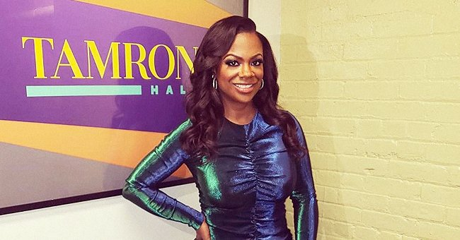 Kandi Burruss from RHOA Responds to Fans' Concern over Bump on Her Neck