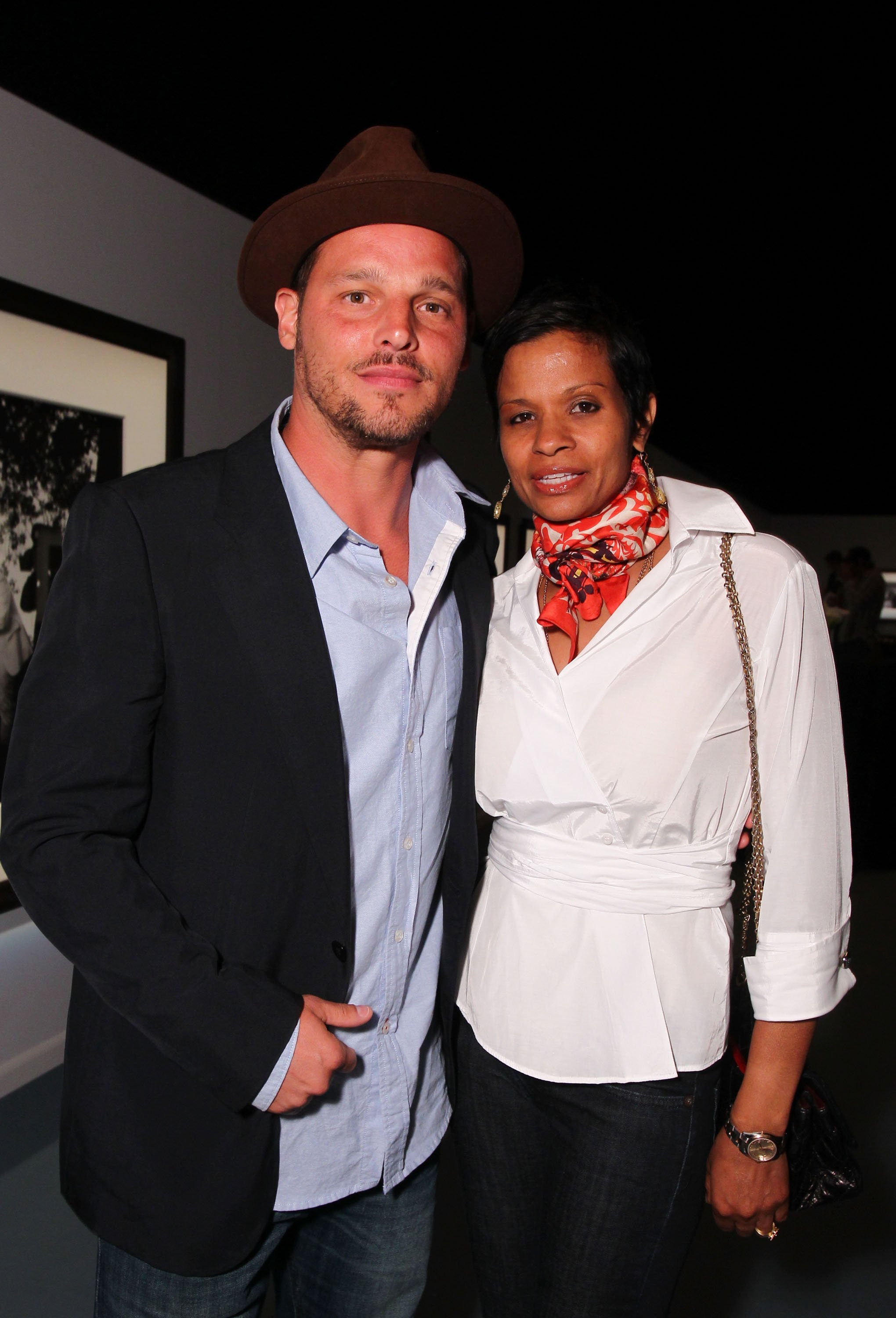 Justin Chambers and Keisha Chambers on April 28, 2011 in Culver City, California | Source: Getty Images/Global Images Ukraine