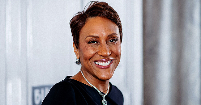 GMA Co-Anchor Robin Roberts Shared Her High School Senior Year Photo with Long Hair