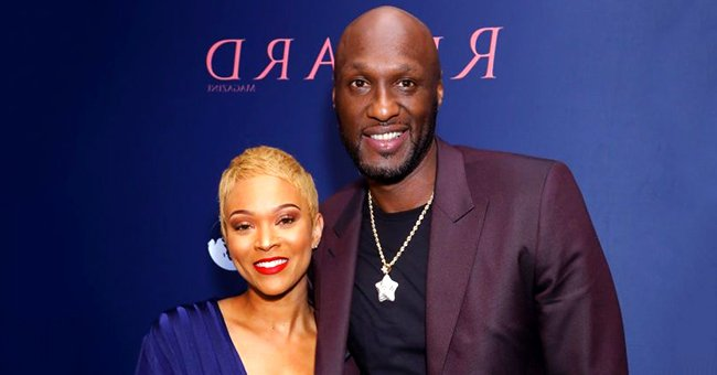 Lamar Odom and Fiancée Sabrina Parr Show Some PDA in Photos from Romantic Date Night