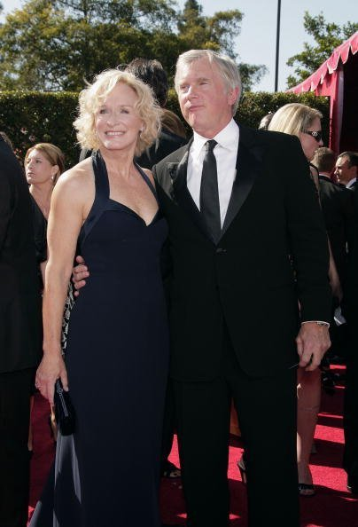 Glenn Close and husband David Evans Shaw at the Shrine Auditorium on September 16, 2007 in Los Angeles, California. | Photo: Getty Images