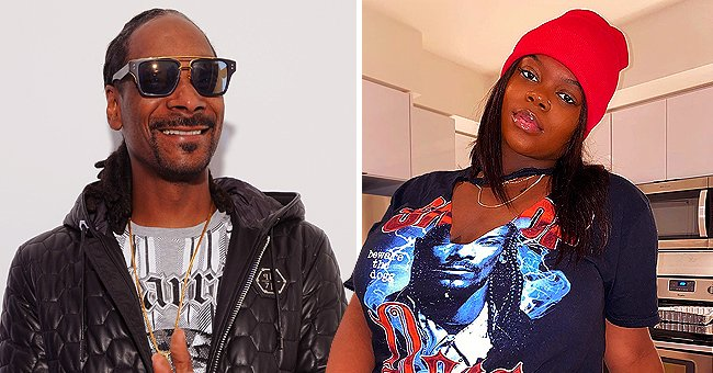 Snoop Dogg Poses with Daughter Cori Broadus as She Flashes Wide Smile in Throwback Photo