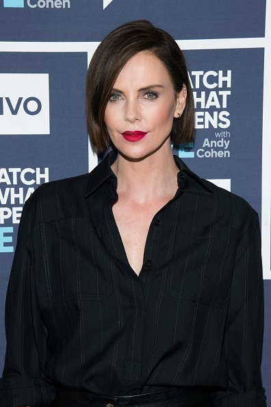 """Actress Charlize Theron on """"Watch What Happens Live With Andy Cohen""""   Photo: Getty Images"""