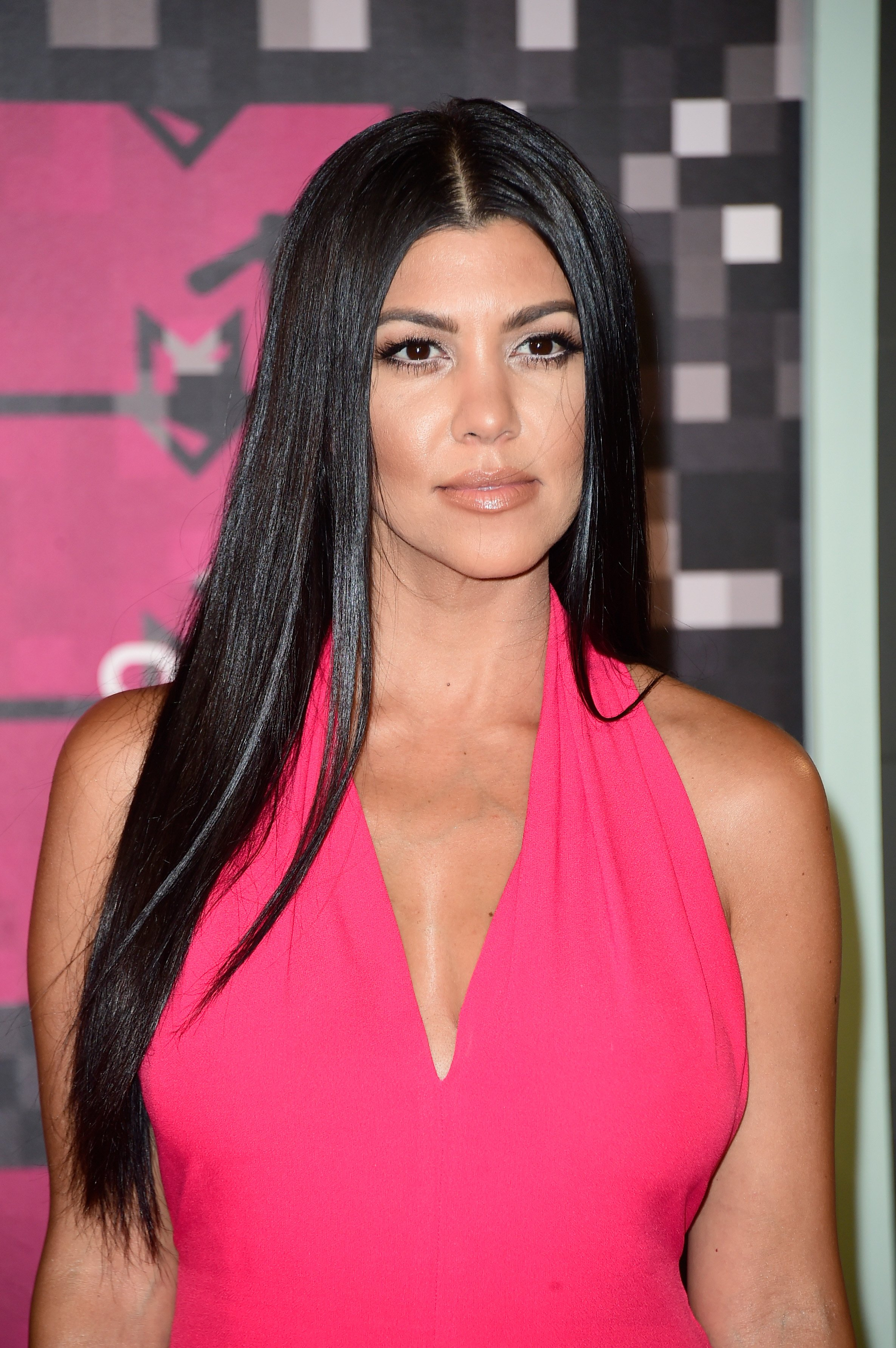 Kourtney Kardashian at the 2015 MTV Video Music Awards in Los Angeles, California | Source: Getty Images