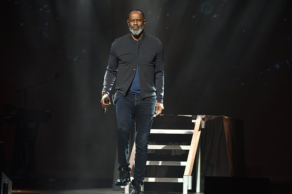 Brian McKnight performing on stage at The Motor City Soundboard, Motor City Casino in Detroit, Michigan | Photo: Getty Images